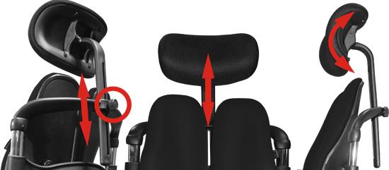 Подголовник для кресла