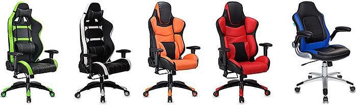 Игровые кресла Бюрократ купить в Екатеринбурге